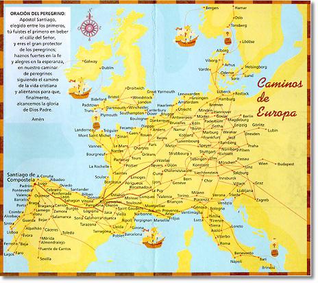 Saint Jean Pied De Port Nach Santiago De Compostela Frankische
